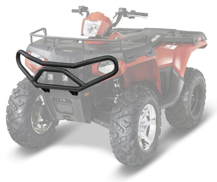 Deluxe front brushguard