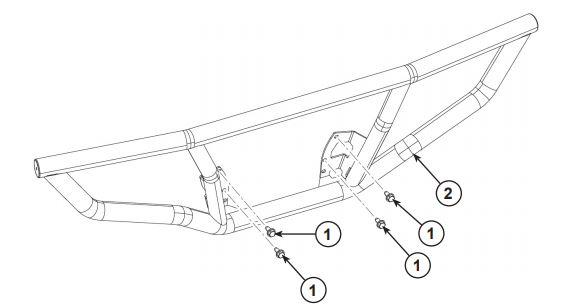 Rear bumper drawing