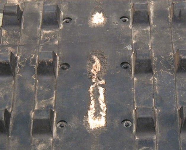 Suspension damage