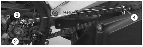 Chain measurement example