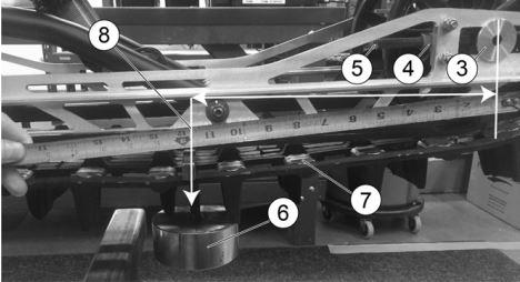 Track tension measurement diagram