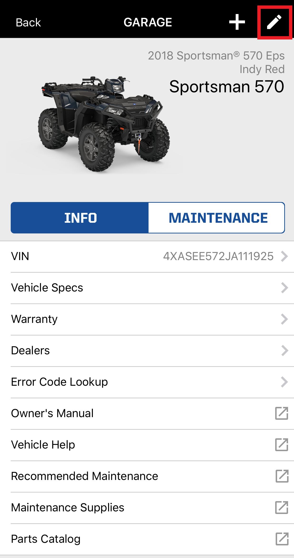 Vehicle added