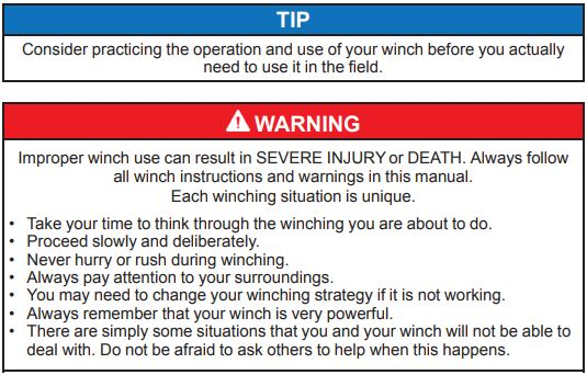 Winch Warning 2