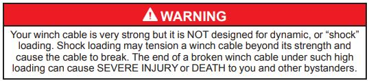 Winch Warning 9