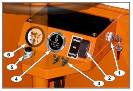 C-432 vehicle controls