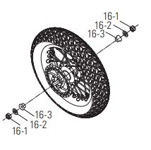 Wheel hardware diagram