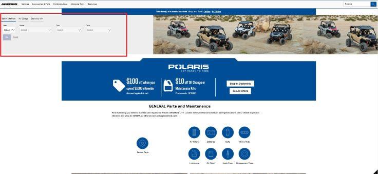 General part catalog