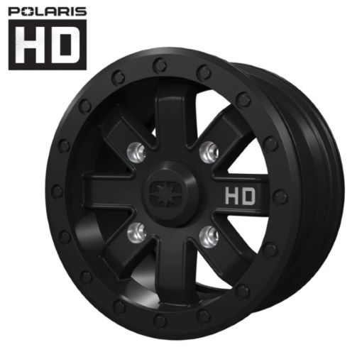 Heavy duty beadlock wheel
