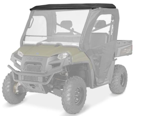 canvas roof & rear panel