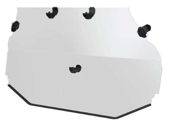 Lock & Ride Poly Rear Panel