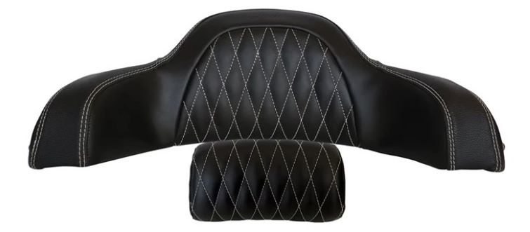 quilted backrest pad
