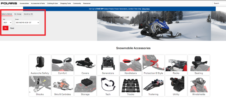 Snowmobile accessory fitment tool